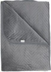 Grijze Yellow Bedsprei Zion - 180x260 cm - Grey