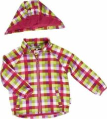 Paarse Playshoes Softshell jas geblokt roze maat 86