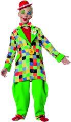 Fopshop Clown & Nar Kostuum | Funky Funk Clown | Jongen | Maat 104 | Carnaval kostuum | Verkleedkleding