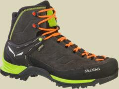 Salewa MS MTN Trainer Mid GTX Men Herren Klettersteigstiefel Größe UK 10 black/sulphur spring