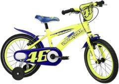 16 Zoll Jungen Fahrrad Adriatica Valentino Rossi VR 46 Adriatica gelb