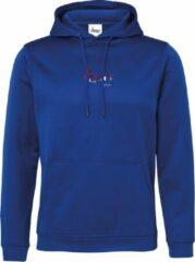 FitProWear Polyester Hoodie Dutch - Unisex - Blauw - Maat M - Mannen / Vrouwen - Sporttrui - Hoodie - Trui - Sweater - Polyester trui - Trui Capuchon - Sportkleding - Casual Kleding