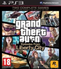 Rockstar Grand Theft Auto 4 (GTA 4) Episodes from Liberty City