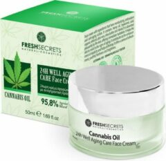 Fresh Secrets Gezichtscrème 24H *Cannabis Olie* 50ml