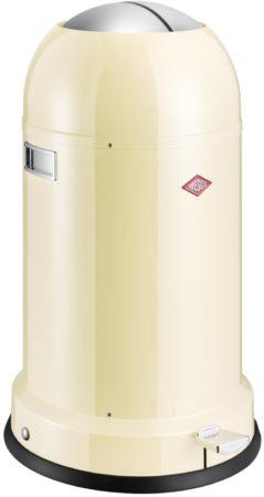 Afbeelding van Creme witte Wesco Kickmaster Cassic Line Soft Pedaalemmer - 33 liter - Amandel