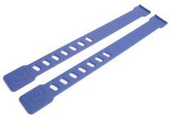 Qibbel voetenbakriem (blauw) - Fietsstoeltje