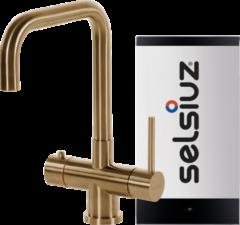 Selsiuz kokendwaterkraan haaks - gold - single boiler