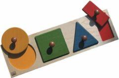 BSM Inbouwset Geometrische vormen en kleuren - Gemengd - Individueel geleverd