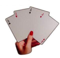 Rode Seletti Poker Spiegel