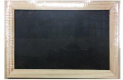 ARO houseware Schoolbord lei 18x26cm houten rand