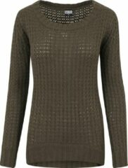 Urban classics Trui -Sweater - Wideneck Sweater - Modern - Trui Dames Sweater Maat L