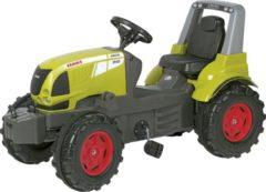 Groene Rolly Toys traptractor RollyFarmtrac Claas Arion 640 groen/grijs