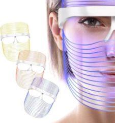 Rode Healthy Beauty Mask Beauty masker – Lichttherapie – Draadloos - Lichttherapie Gezichtsmasker – LED Masker Beauty - Skincare Routine – LED – Puistjes – Acne – Anti Rimpel - Huidverbetering – Huidverzorgingsmasker - Hyperpigmentatie – Anti-age – Face M