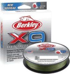 Groene Gevlochten Lijn Berkley X9 Braid 150m 0.06mm