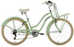 KS Cycling Beachcruiser, 26 Zoll, mintgrün, Shimano 6 Gang-Kettenschaltung, »Melba«