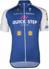 Blauwe Vermarc QUICK STEP FLOORS SHIRT S-DRY 2017 - Maat 8XL