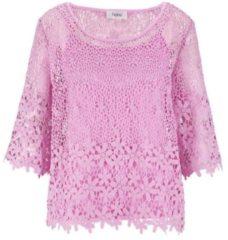 Roze Kanten blouse