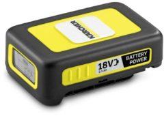 Gele Kärcher 2.445-034.0 oplaadbare batterij/accu Lithium-Ion (Li-Ion) 2400 mAh 18 V