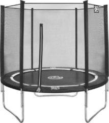 Zwarte Intergard Trampoline met net ø244cm