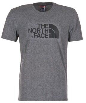 Afbeelding van Grijze The North Face Men's Easy T-Shirt - TNF Medium Grey Heather - XL - Grey