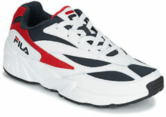 FILA V94M Low Wit/Donkerblauw/Rood Heren Sneakers Wit Divers | Kleur Wit Divers| Maat 44
