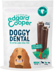 Edgard-Cooper Edgard&Cooper Doggy Dental Aardbei&Munt - Hondensnacks - M