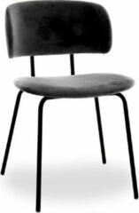 Grijze RoomForTheNew Conferentiestoel M5- Vergaderstoel - Conferentiestoel - luxe stoel - stoel - vergaderen - eetkamerstoel - conferentie stoel - vergader stoel
