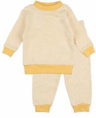 Feetje Wafel Pyjama Okergeel Mt. 74