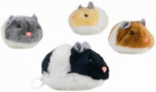 Afbeelding van Brekz Trillende Pluche Hamster Per stuk