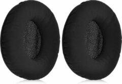 Kwmobile 2x oorkussens voor Sennheiser Urbanite koptelefoons - imitatieleer - voor over-ear-koptelefoon - zwart