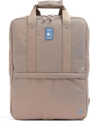 Lefrik Daily Laptop Rugzak - Eco Friendly - Recycled Materiaal - 15 inch - Bruin