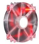 Cooler Master MegaFlow 200 Red LED Silent Fan, Gehäuselüfter