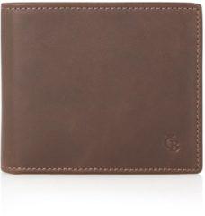 Castelijn & Beerens Canyon Billfold heren portemonnee mocca 48 4190 MO Dames portemonnee