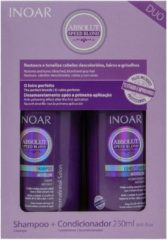 Inoar Absolut Speed Blond Shampoo&Conditioner 2x250ml