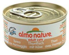 Almo Nature Hfc Cat Cuisine 70 g - Kattenvoer - Tonijn&Kip&Kaas Classic - Kattenvoer