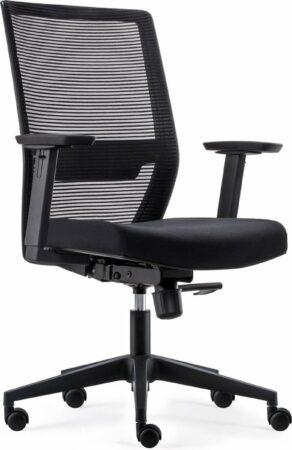 Afbeelding van BenS 851-Eco-2 Complete bureaustoel - ergonomisch gevormd - Zwart
