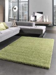 Karpetexpert.nl Vloerkleed Shaggy Plus 965 groen 80x150 cm