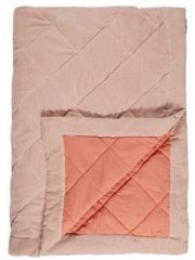 KAAT Amsterdam Ogibly - Plaid - 180x260 cm - Roze