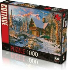 KS Games Winter Holiday Puzzel 1000 Stukjes