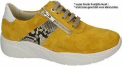 Solidus -Dames - geel - sneaker-sportief - maat 39½