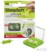 Alpine oordoppen SleepSoft Minigrip 12 mm thermoplast transparant