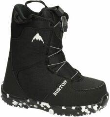Zwarte Burton Grom Boa kinder snowboardschoenen black