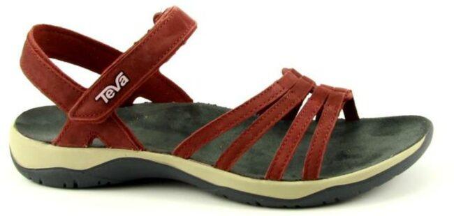 Afbeelding van Bordeauxrode Teva Elzada sandal
