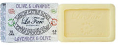 Biologische zeep-La Fare 1789 Extra Smooth Soap Lavender Olive 75g- Lavendelzeep-Soap