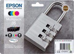 Epson 35 Multipack - 4 - zwart, geel, cyaan, magenta - origineel - inktcartridge (C13T35864020)