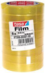 Tesa 57208-01-00 tesafilm tesa Transparant (l x b) 66 m x 19 mm 8 rollen