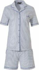 Blauwe Pastunette korte pyjama 35211-310-6/510-38