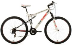 "KS Cycling MOUNTAINBIKE MTB TWENTYNINER FULLY 29"" SLYDER MTB Hardtail Herren weiß"