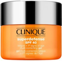 Clinique Superdefense SPF 40 Fatigue + 1st Signs of Age Multi-Correcting Gel Gezichtsgel 50 ml