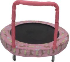 Jumpking trampoline Mini Bouncer Pink Bunny 121 cm roze